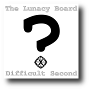 Difficult Second Cover Art